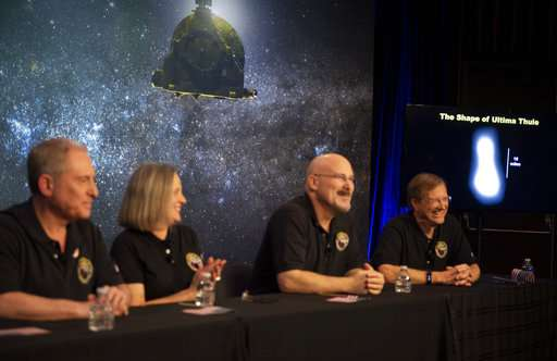 Spacecraft opens new year with flyby on solar system's edge (Update)