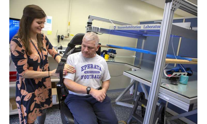 When it comes to therapy for stroke patients, sometimes treating the wrong hand is exactly right