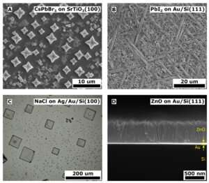 **Researchers discover an economical way to produce high-performance thin films for electronics