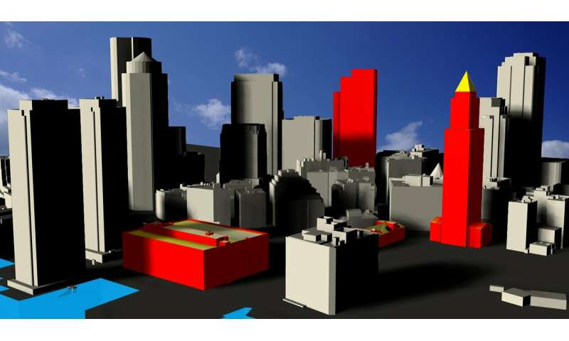 A new approach for the fast estimation of the solar energy potential in urban environments