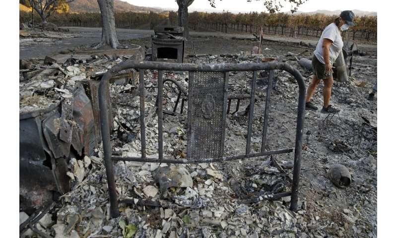 Crews battle last stubborn Southern California wildfire