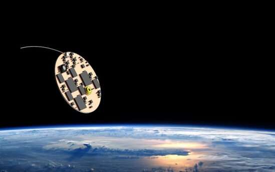 Experimental cosmologist group launches its first iterations of space-traveling 'wafercraft'