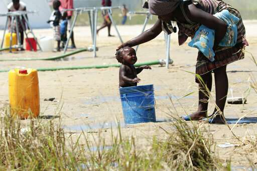 International aid helps Mozambique fight cholera in Beira