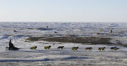 Live feeds and GPS: Rugged Iditarod has high-tech support