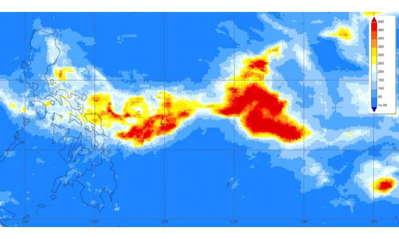 NASA analyzes Kammuri's heavy rainfall