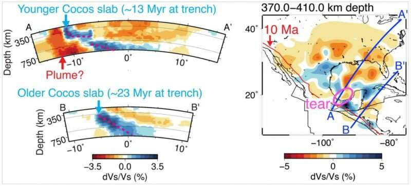 New research provides better look at ocean plate under Central America