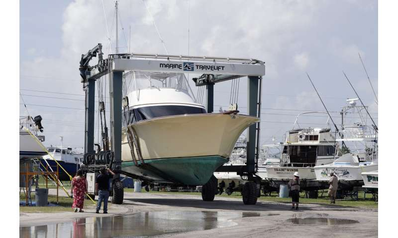 Northern Bahamas hunkers down as Hurricane Dorian closes in