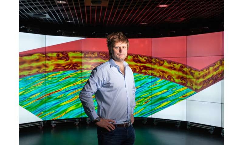 Supercomputers use graphics processors to solve longstanding turbulence question