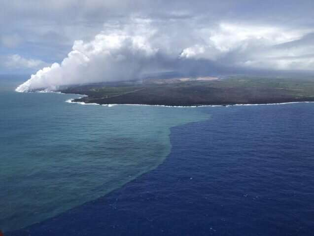 The surprising way a volcanic eruption fueled a bloom of ocean algae