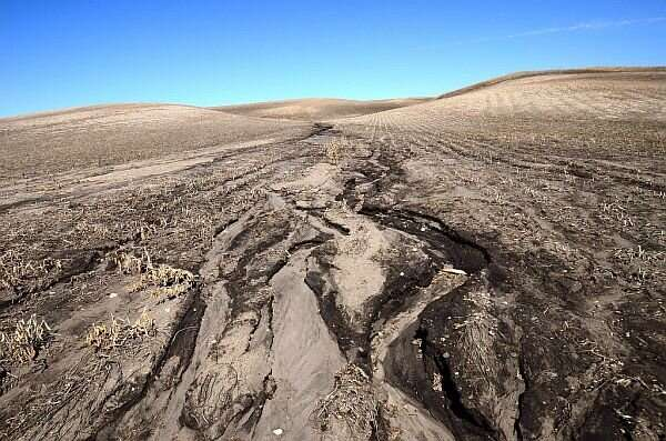 Human activities and soil erosion