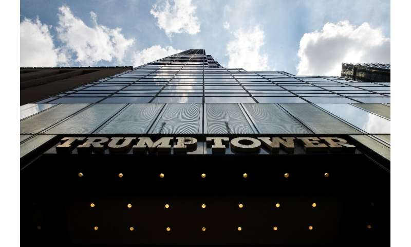 Environmental groups say Trump Tower, on New York's Fifth Avenue, is one of the city's most energy-greedy skyscrapers