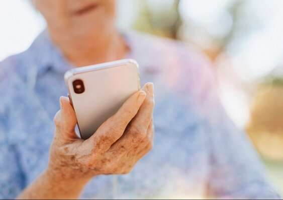 Smartphone app to screen for early signs of dementia