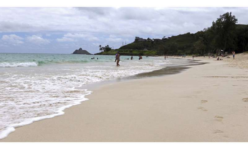 The white sands of Oahu's Kailua beach named best in America
