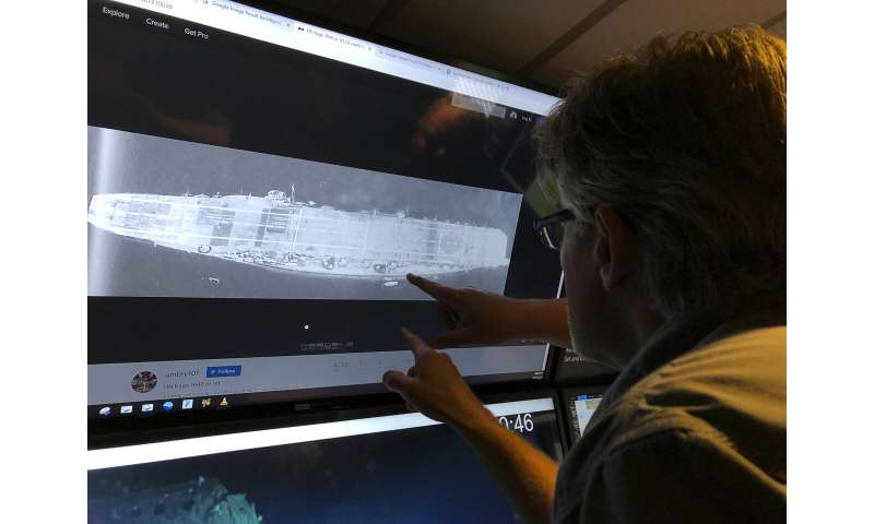 Researchers find second warship from WWII Battle of Midway