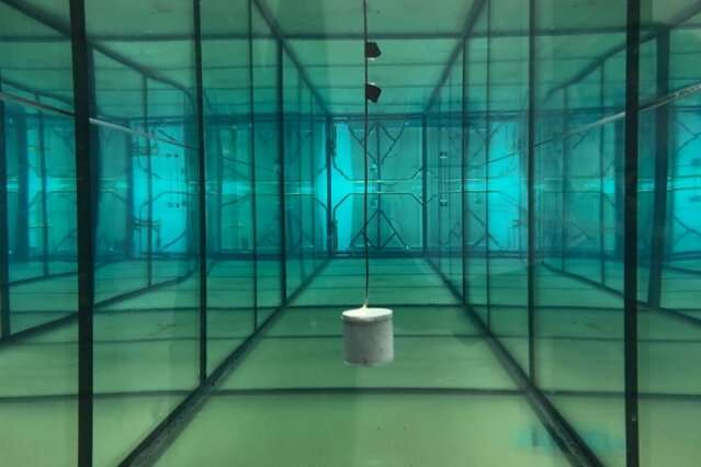 A battery-free sensor for underwater exploration