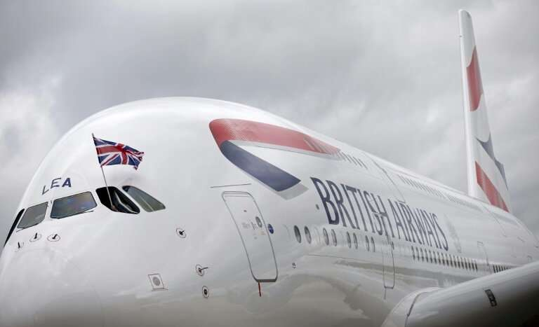 """A British Airways A380 superjumbo, which the chief of BA-parent IAG has said were """"excellent"""" aircraft"""