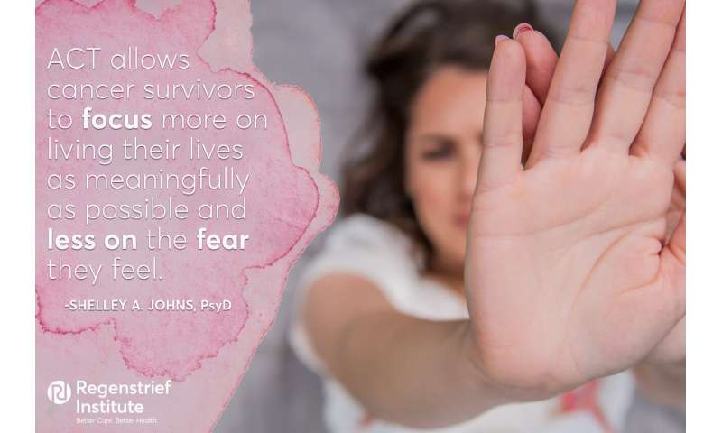 Acceptance and commitment therapy may ease fear of recurrence in cancer survivors