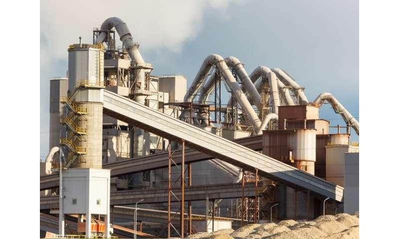 A concrete step toward net-zero carbon emissions in cement production