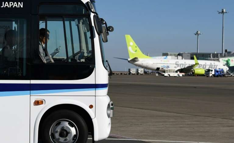 A consortium hopes to roll out the driverless buses at Haneda airport for the Tokyo 2020 Olympics