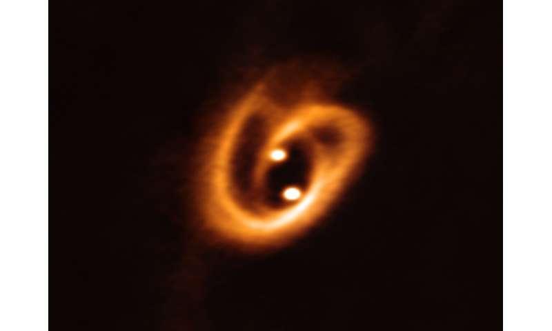 A cosmic pretzel