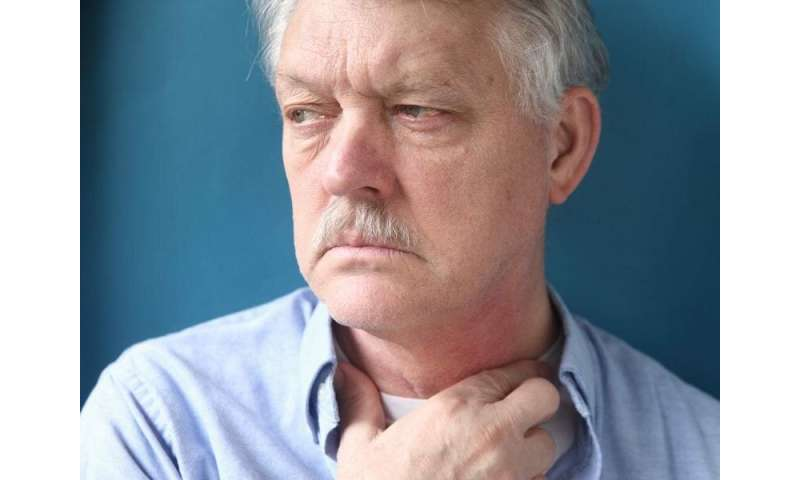 Adenocarcinoma, high-grade dysplasia up with barrett esophagus