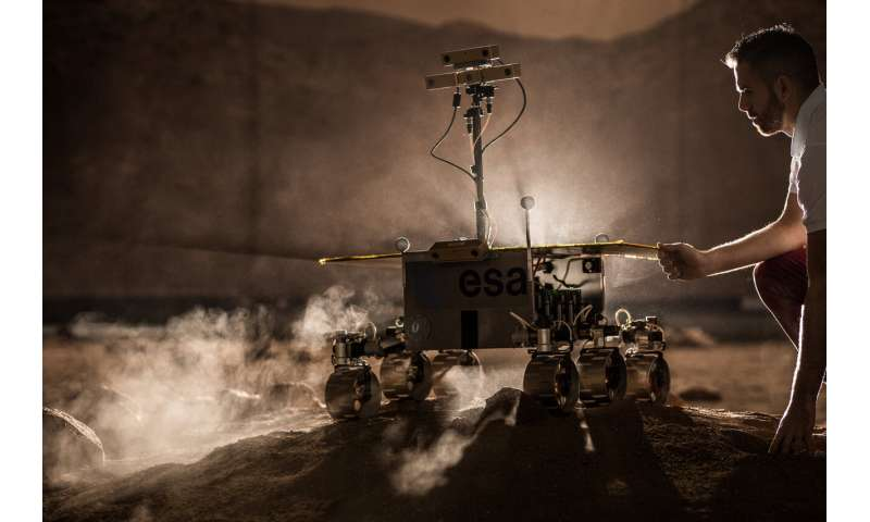 A European mission control for the Mars rover