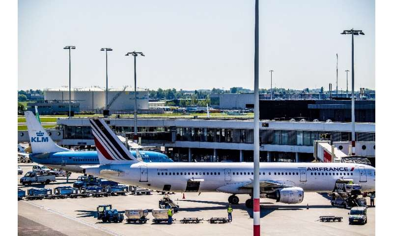 A favourable comparison point meant a boost in quarterly profits at Air France-KLM, but rising fuel costs threaten to erode earn