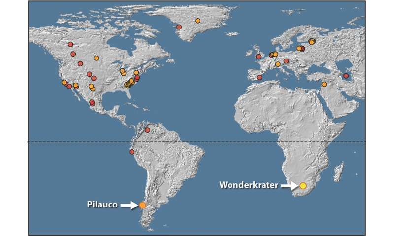 African evidence supports the Younger Dryas Impact Hypothesis