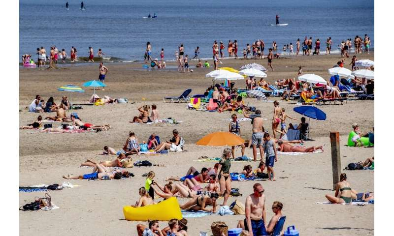 After summer got off to a slow start, Europe looks set to bake in a week-long heat wave