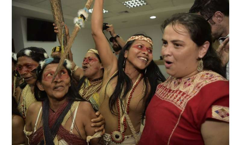 After two weeks of deliberations, a criminal court in Puyo, Ecuador, accepted a Waorani tribe bid for court protection in Pastaz