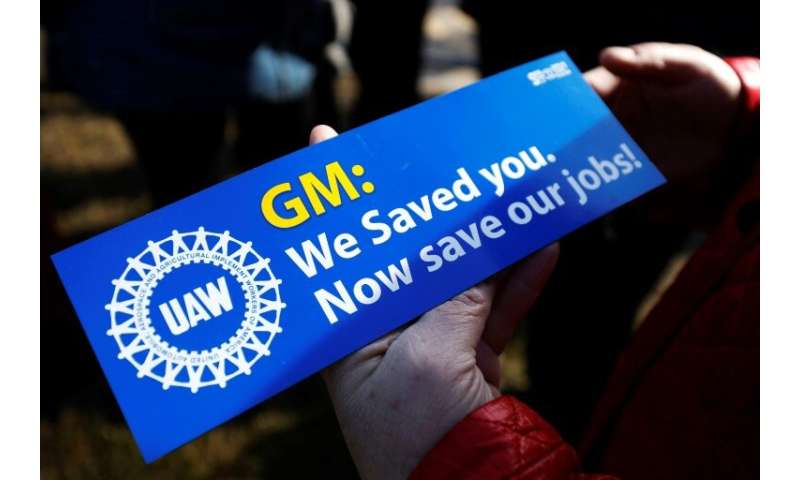 A GM spokeswoman said the November 26 announcement on the plants does not violate its agreement with the union
