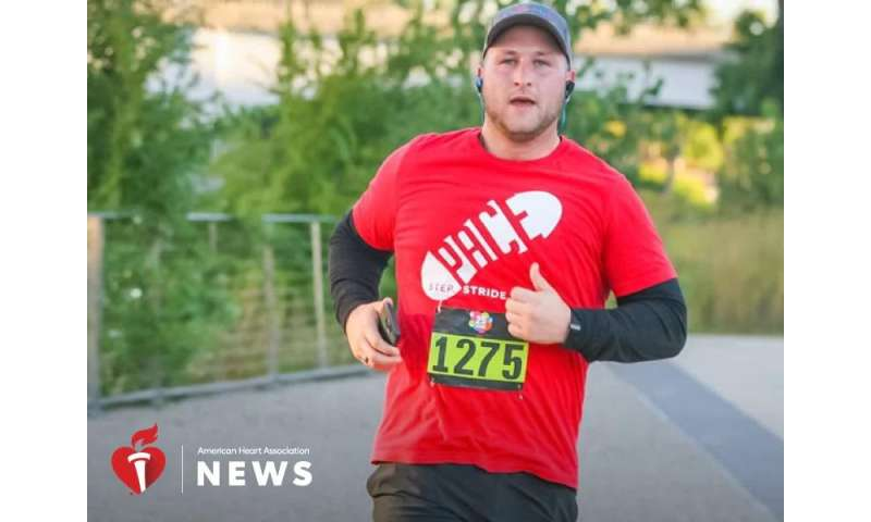 AHA: lifestyle changes helped new dad shed nearly 50 pounds