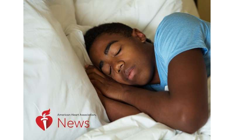 AHA news: A wake-up call on teen sleep: why doctors want school bells to ring later