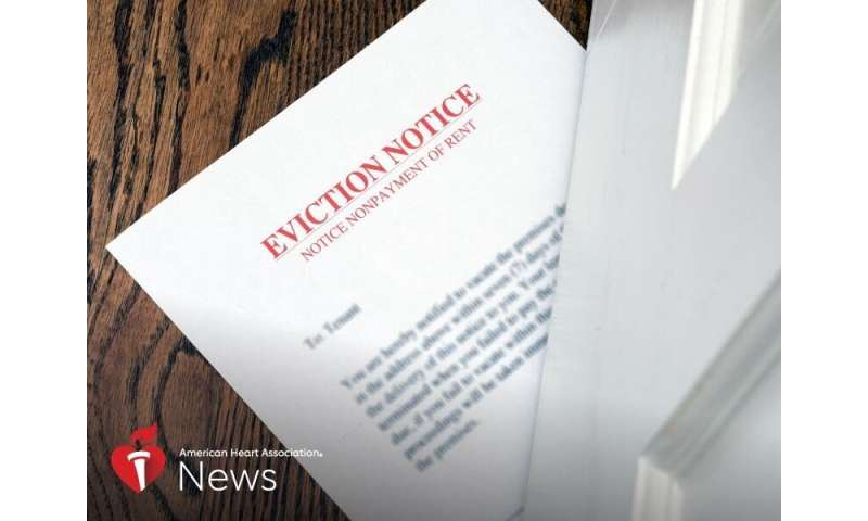 AHA news: best way to end homelessness and its health impact? prevent evictions