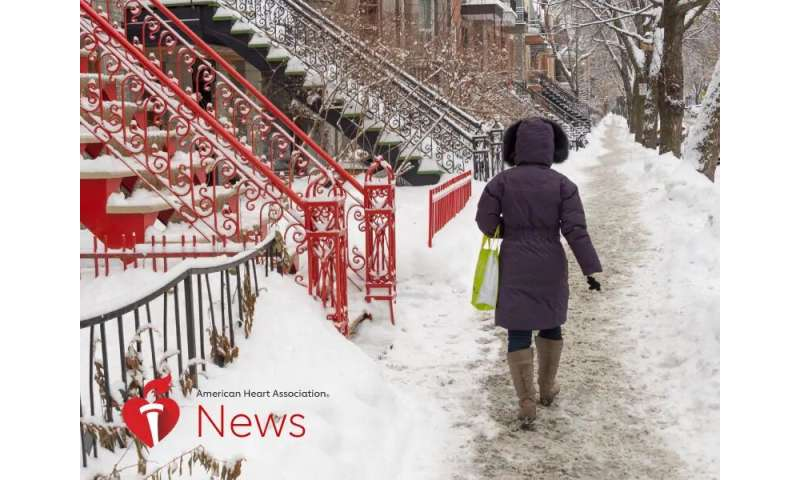 Cold Heart Facts: Why You Need to Watch Out in Winter: AHA News