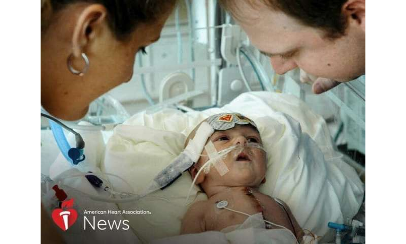 AHA news: couple kept the faith as baby neared death -- and then a transplant saved him
