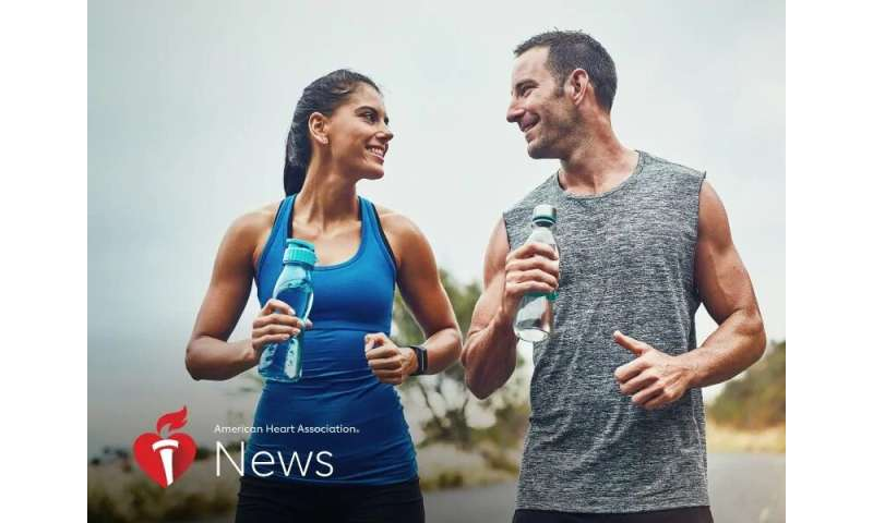 AHA news: exercise caution outdoors in the summer heat