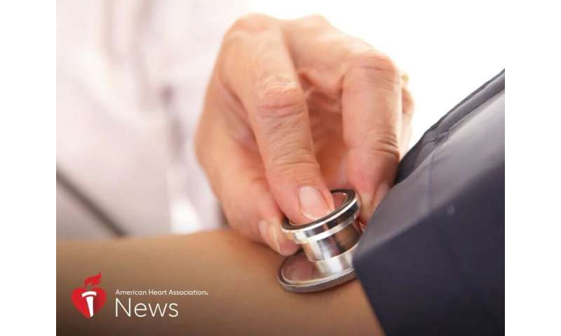 AHA news: high blood pressure top risk factor for stroke in young adults