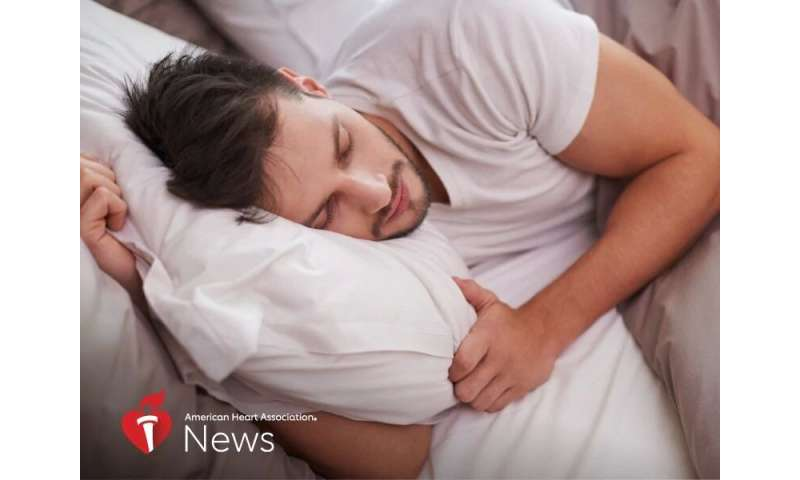 AHA news: irregular sleep could impact your heart health