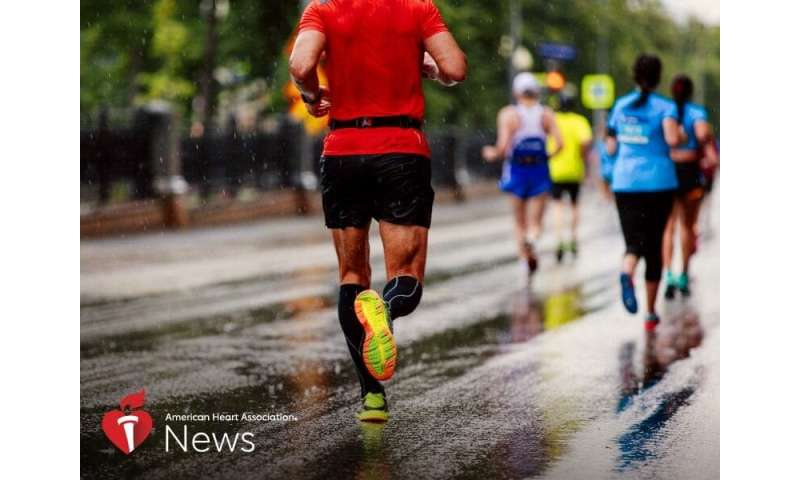 AHA news: is long-distance running good for the heart?