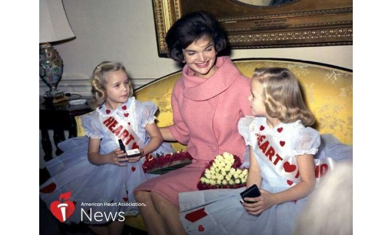 AHA news: kids with heart defects joined jackie kennedy, LBJ to raise awareness