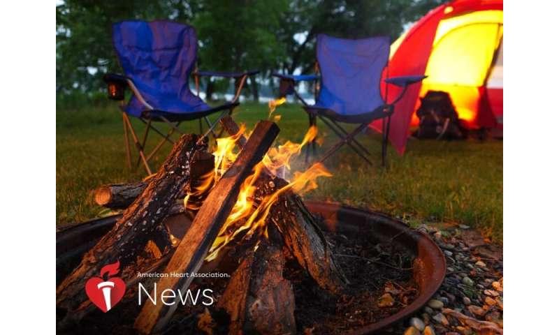 AHA news: lovely but dangerous, wood fires bring health risks