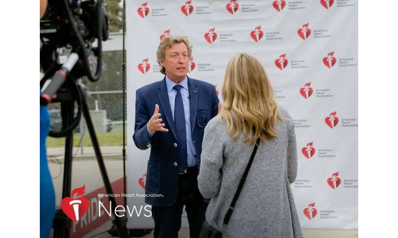 AHA news: so you think you can survive a heart attack? nigel lythgoe tells his story