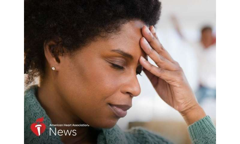 AHA news: stressful life events tied to heart disease in older black women