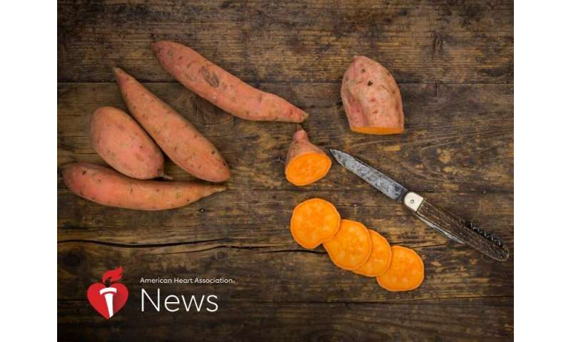 Sweet Potatoes Are a Holiday Dish to Be Thankful For: AHA News