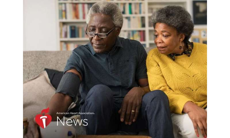 AHA news: taking blood pressure at home may better predict heart problem in black adults