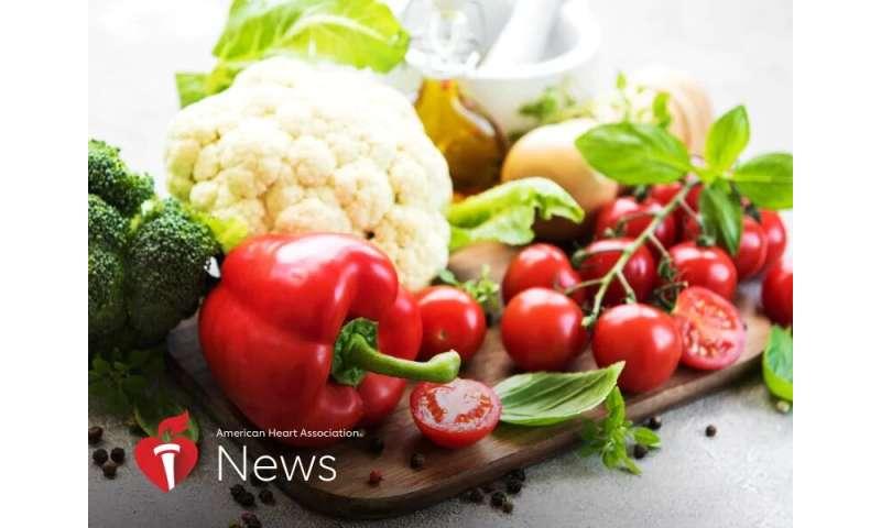AHA news: vegan diet may decrease heart disease, stroke risk in african americans