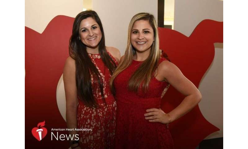 AHA news: young sisters share battle with different types of heart disease