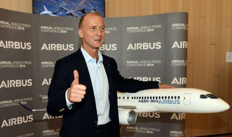 Airbus CEO Tom Enders, who is stepping down in the spring