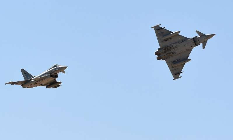 Airbus' defence division is the biggest shareholder in the consortium that makes the Eurofighter Typhoon fighter jet